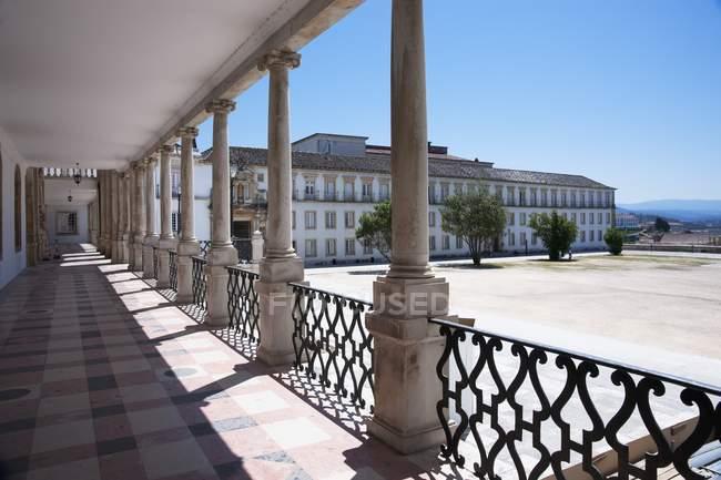 Cortile dell'Università di Coimbra — Foto stock