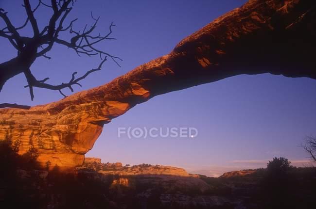 Formazione di roccia sagoma — Foto stock
