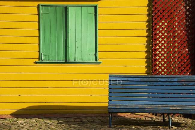 Colores de La Boca - foto de stock