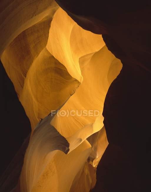 Orange rock formation — Stock Photo