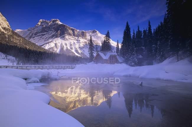 Lago di Smeraldo, Yoho National Park, Golden, British Columbia, Cana — Foto stock