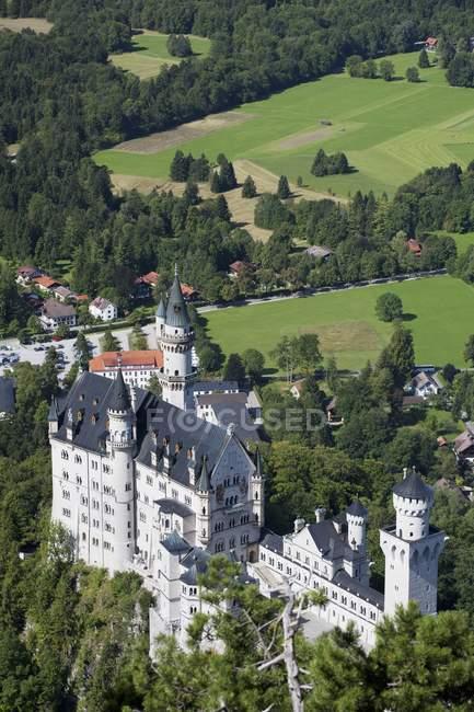 Bavarian castelo na montanha — Fotografia de Stock