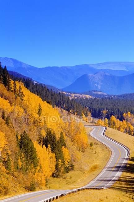 Kananaskis Country Road — Photo de stock