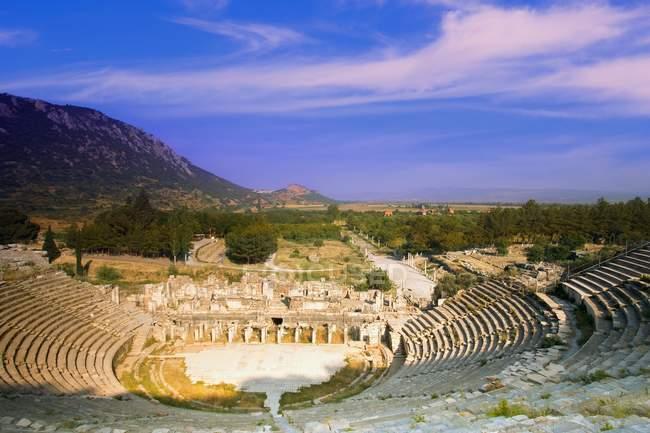Стародавній театр Ефес — стокове фото