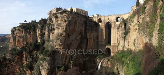 Puente de Ronda en Málaga - foto de stock