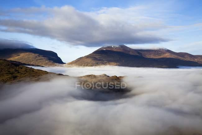 County Kerry mit Nebel im Tal — Stockfoto