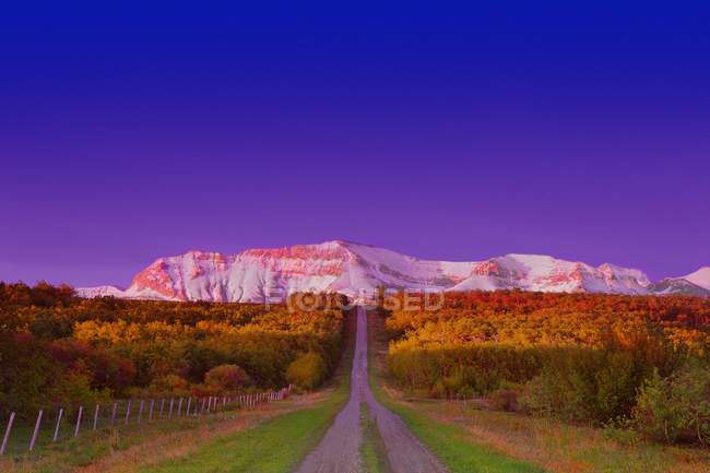 Mountain In Waterton National Park — Stock Photo