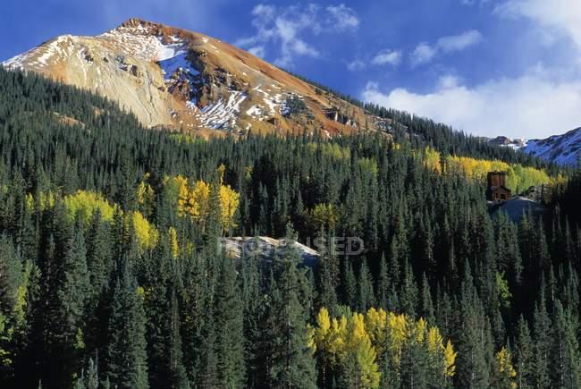 Red Mountain, District minier Guston — Photo de stock