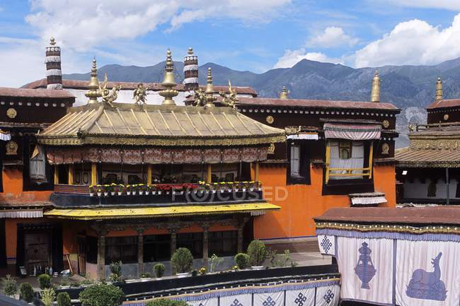 Le Jokhang, Lhassa, Tibet — Photo de stock