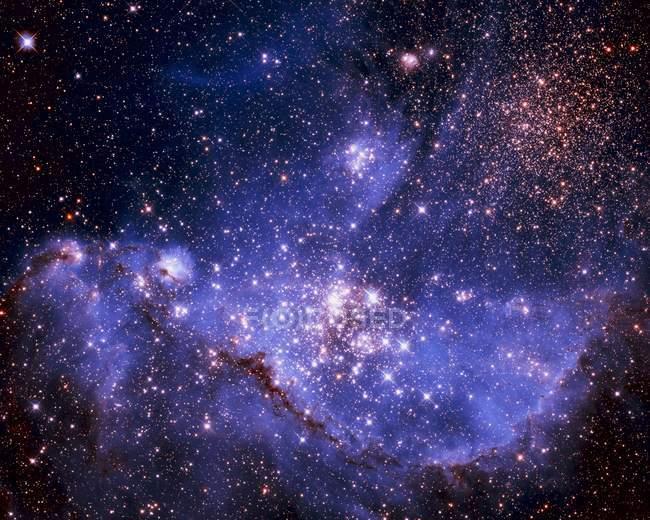 Stars And Milky Way — Stock Photo