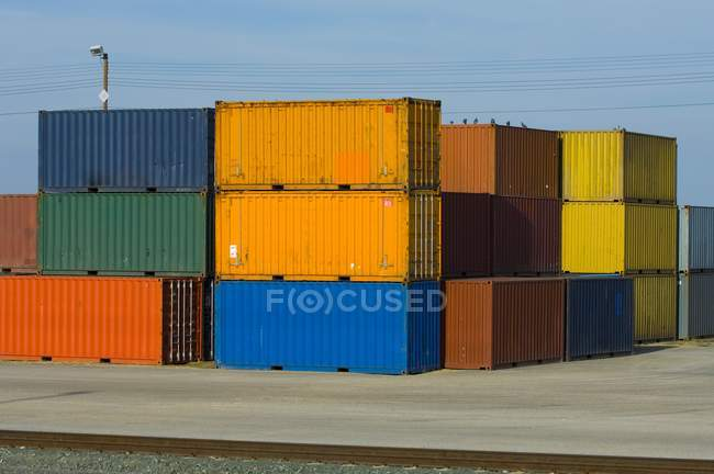 Storage Containers — Stock Photo