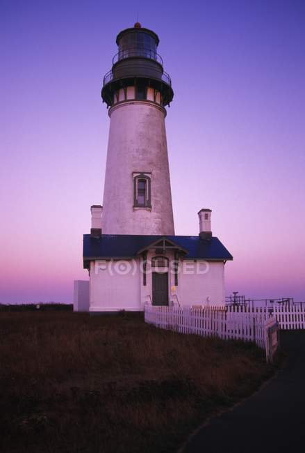 Yaquina Head Lighthouse — Stock Photo