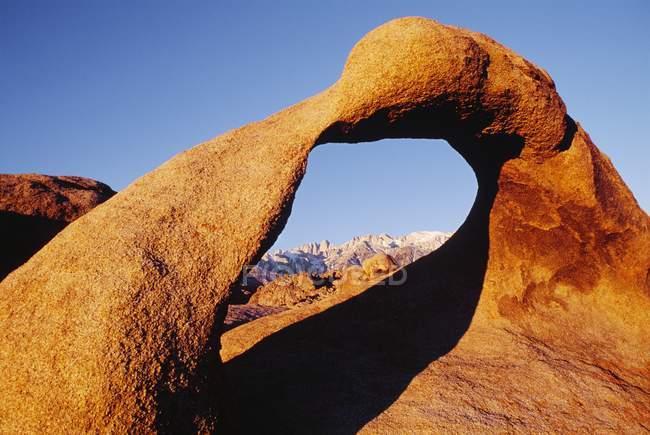 Sandstein Bogen am Hügel — Stockfoto