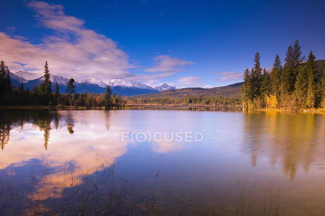 Riflesso scenico, Pyramid Lake — Foto stock