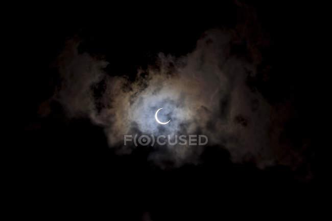Eclissi solare, Isola di Quirimba — Foto stock