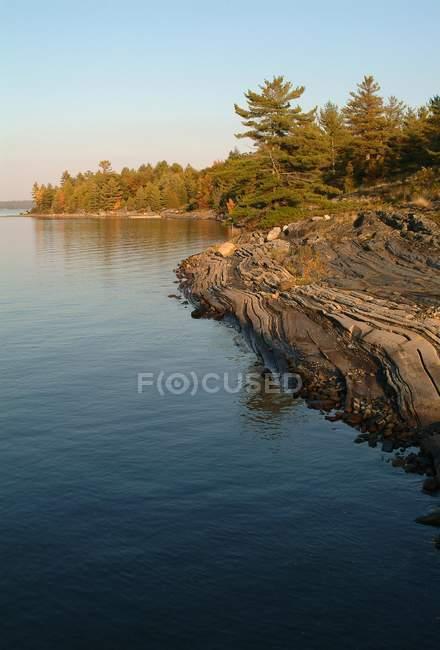Мальовничі озера краю — стокове фото