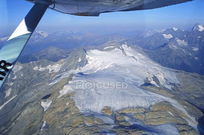 Vue du sommet de la montagne — Photo de stock