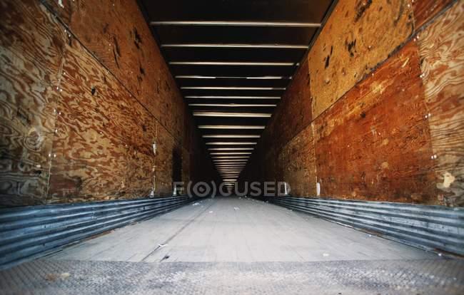 Поверхности уровня вид подземного пути — стоковое фото