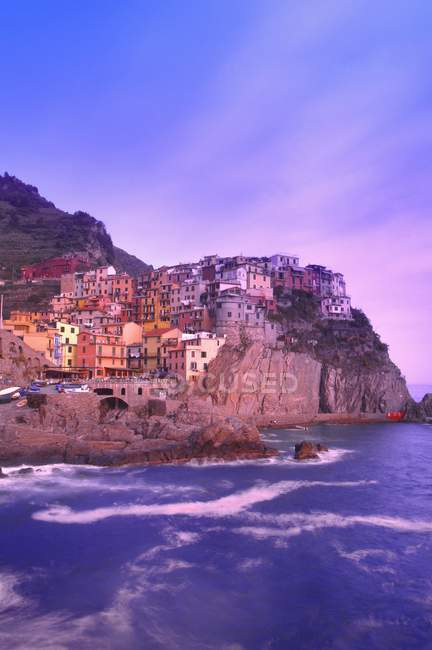 Manarola Cinque Terre Liguria Italy — Stock Photo