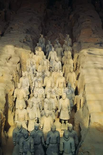 Terracotta Warriors, Xian — Stock Photo