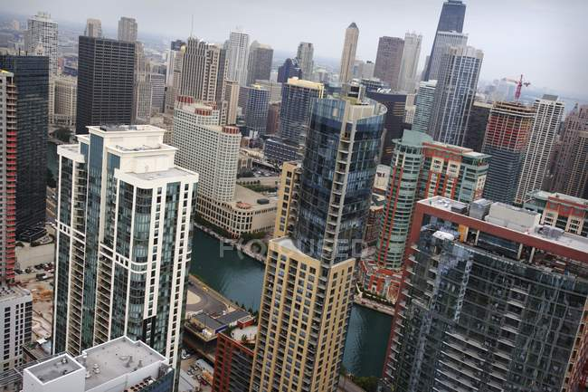 View Of Downtown Chicago — Stock Photo