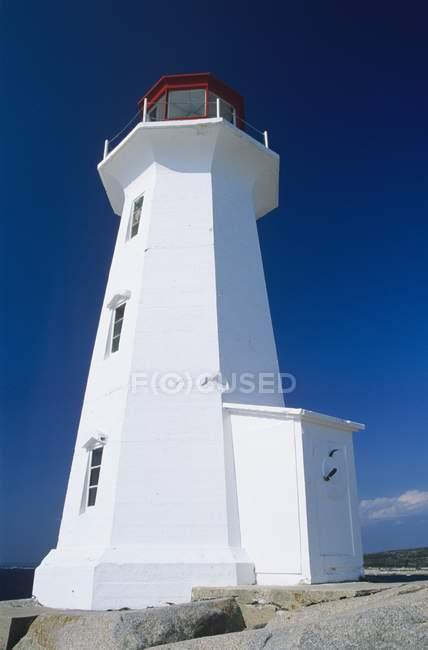 Peggys Bucht Leuchtturm, Nova Scotia — Stockfoto