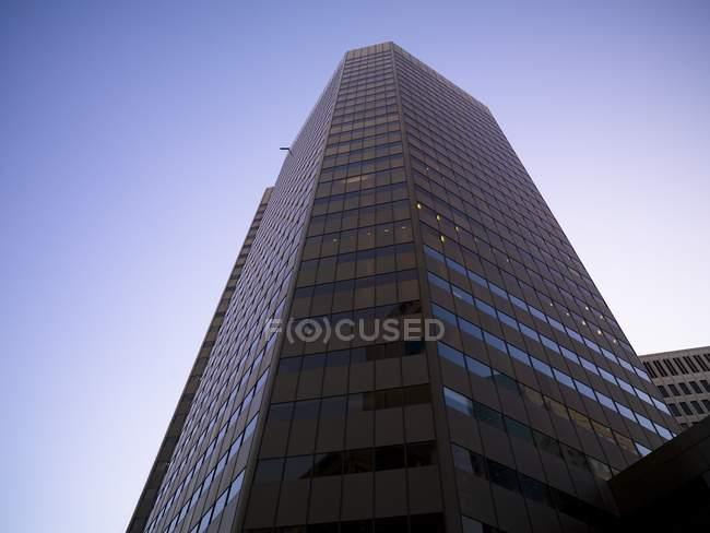 Rascacielos en Winnipeg en Canadá - foto de stock