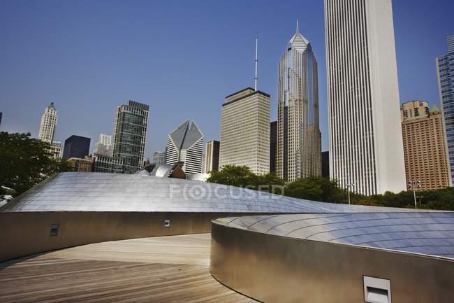 Pavillon Jay Pritzker — Photo de stock