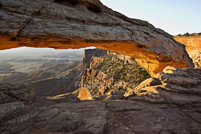 O Arch no Parque Nacional Arches — Fotografia de Stock
