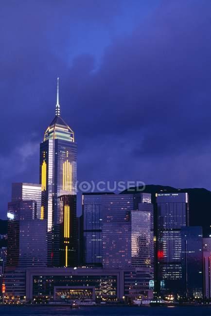 Hong Kong будинках — стокове фото