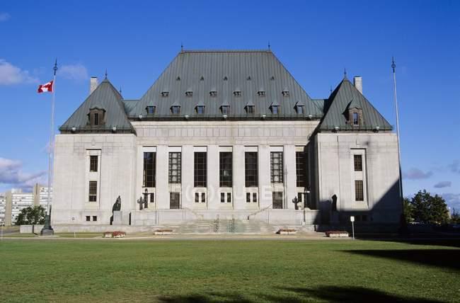 Corte suprema del Canada — Foto stock