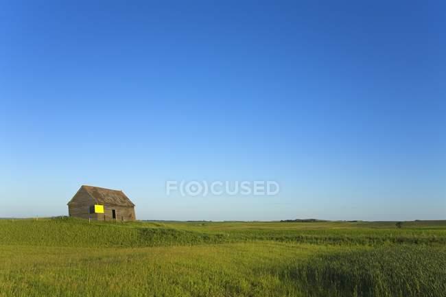Old Farm Shed, North Dakota, Usa — Stock Photo