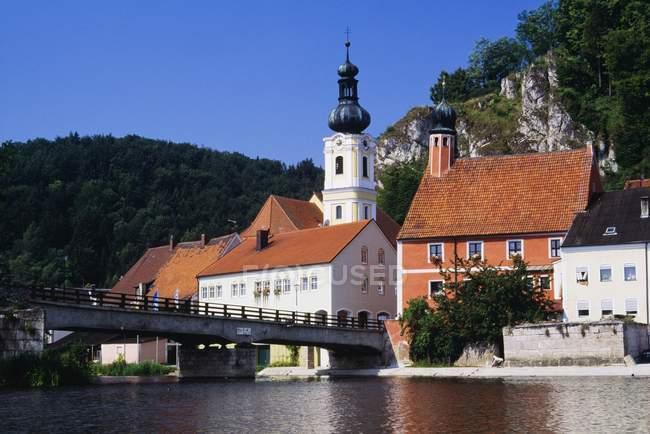 Kallmunz, Bavière, Allemagne — Photo de stock