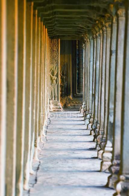 Bassorilievi di miti indù — Foto stock