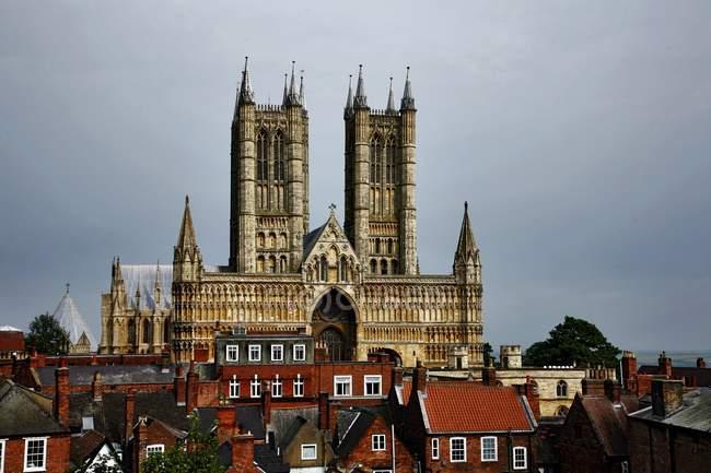 Cattedrale di Lincoln, Inghilterra — Foto stock