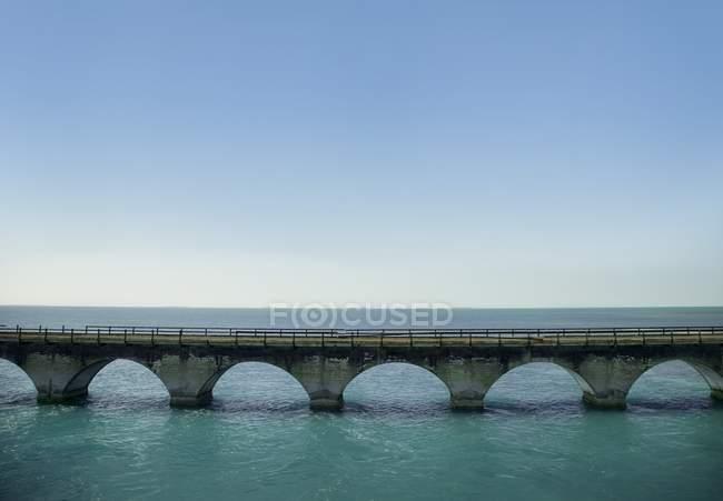 Bridge In Florida Keys, Florida — Stock Photo