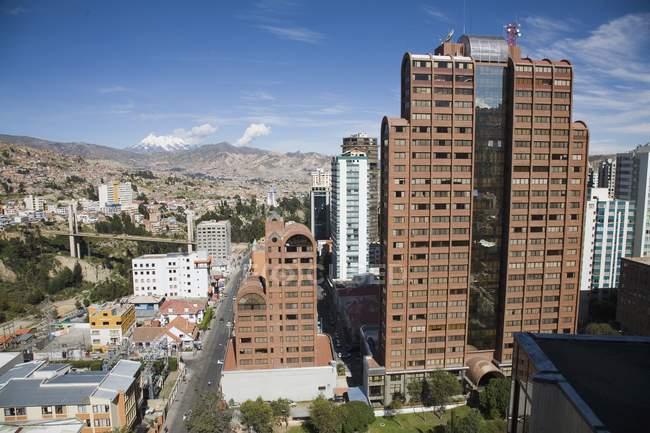 Vista degli edifici durante il giorno — Foto stock