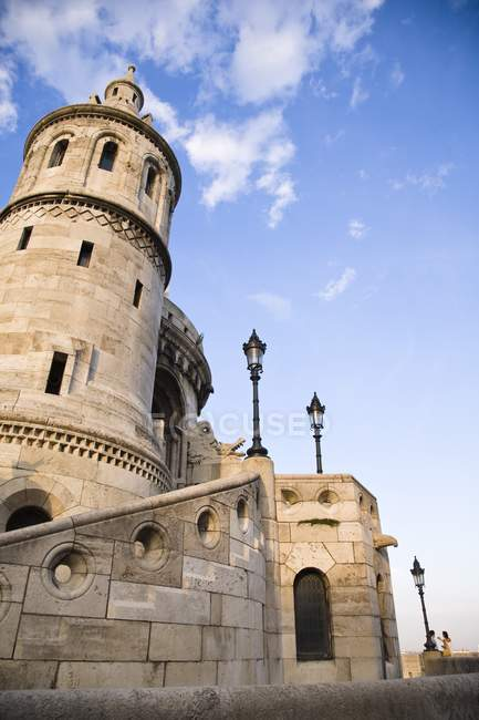 Fisherman's Bastion at Castle Hill — Stock Photo
