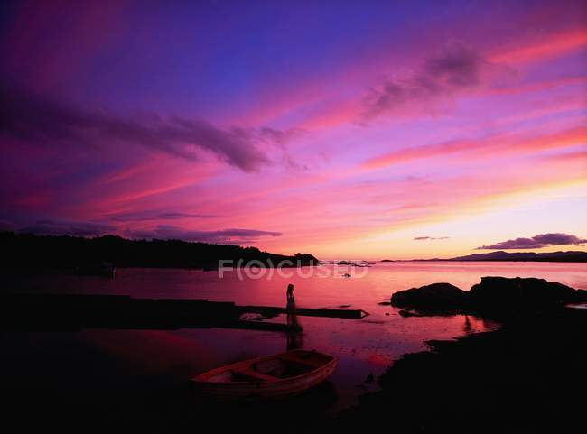 Kenmare bay am ring of kerry — Stockfoto