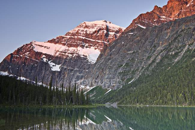 Mountain Reflection, Mount Edith Cavell — Stock Photo