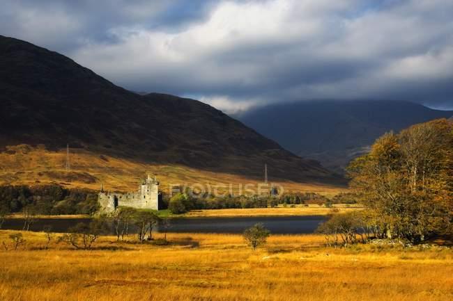 Kilchurn castle, loch awe, schottland — Stockfoto