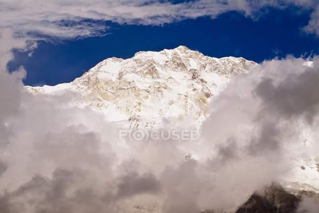 Vista aerea delle montagne — Foto stock