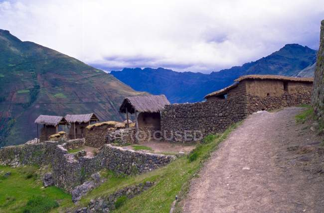 Vallée sacrée des incas — Photo de stock
