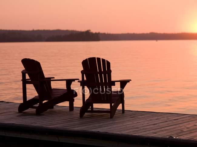 Lac des Bois en Ontario — Photo de stock