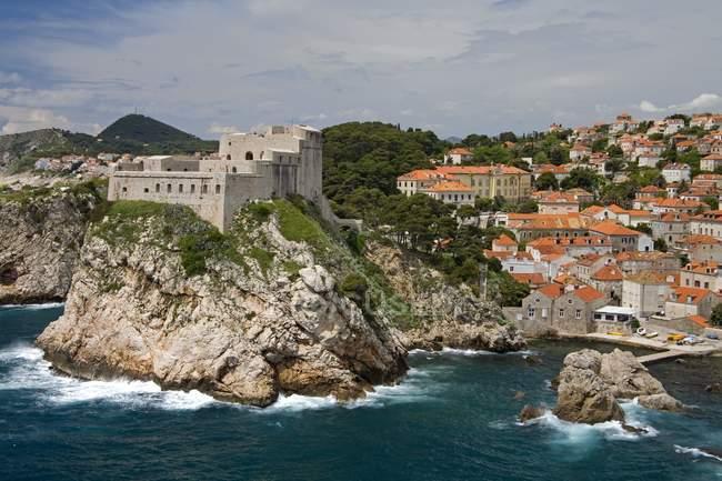 Lovrijenac Fortress, Croatia — Stock Photo