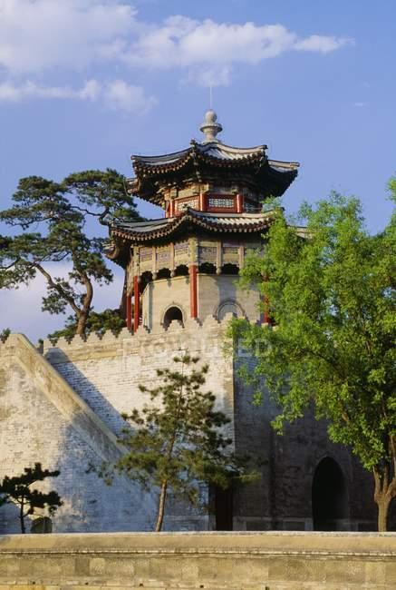 Пагода на літній палац у Beijing — стокове фото