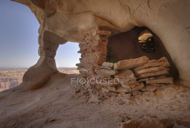 Parque Nacional Canyonlands - foto de stock