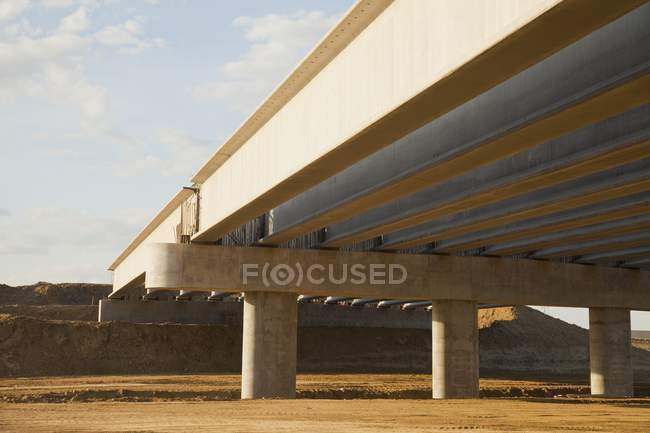 Construction Of An Overpass — Stock Photo