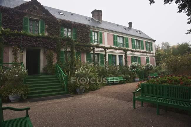 Das Haus von Claude Monet — Stockfoto