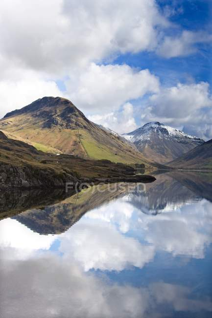 Mountains And Lake, Angleterre — Photo de stock